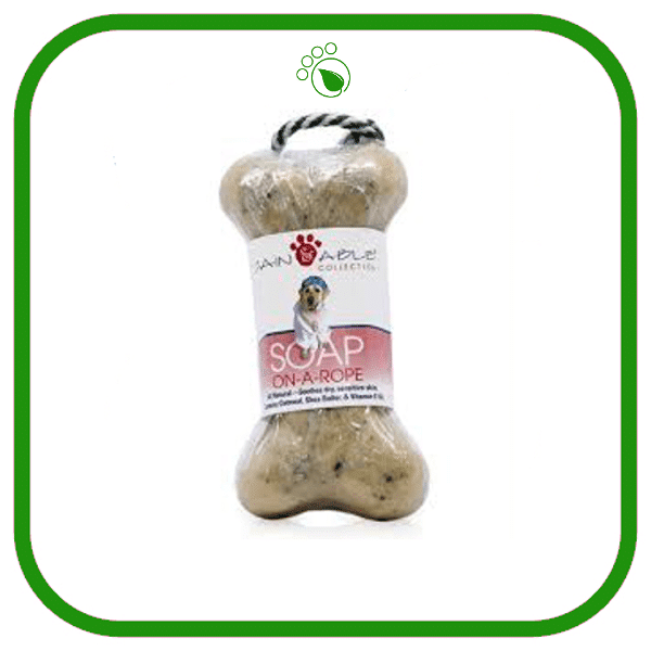 Cain and Able Soap On-a-Rope for Dogs