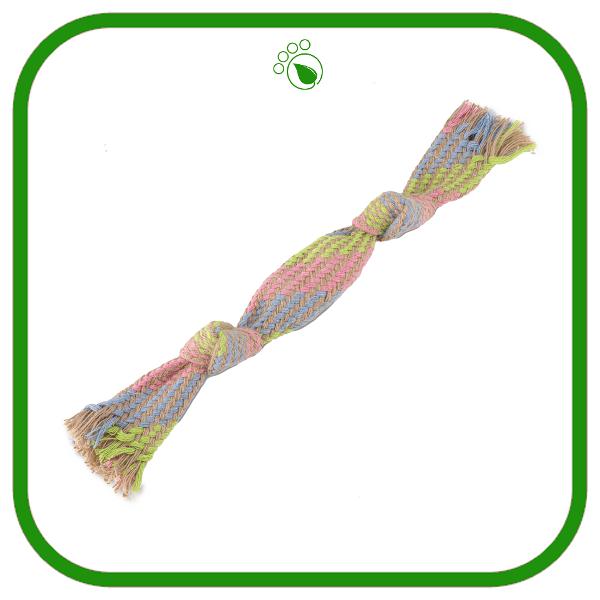 Beco Hemp Squeaky Rope Toy