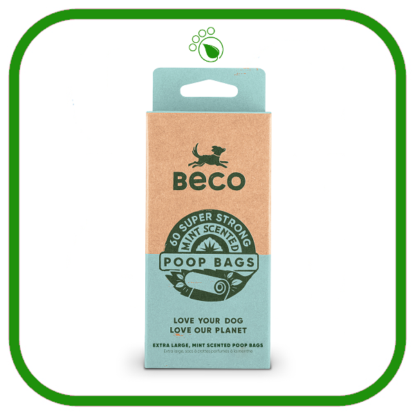Beco Bags Eco-Friendly Scented Dog Poo Bags