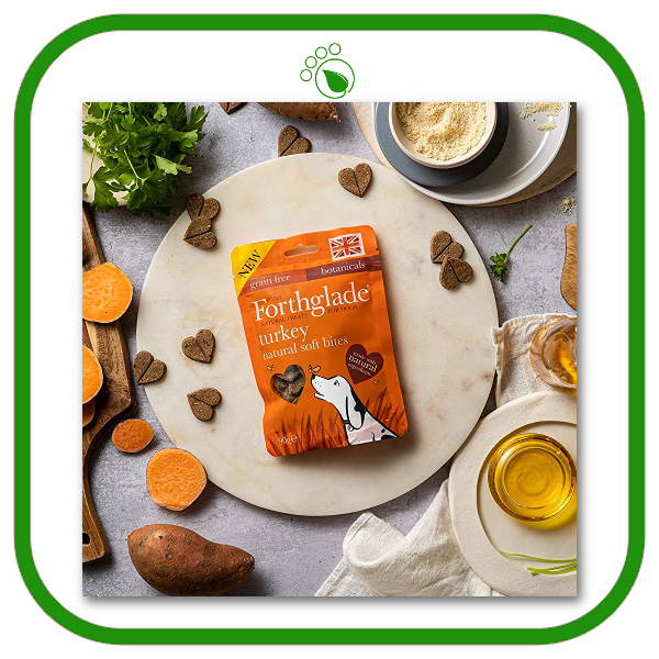 Forthglade Natural Soft Bite Treats with Turkey